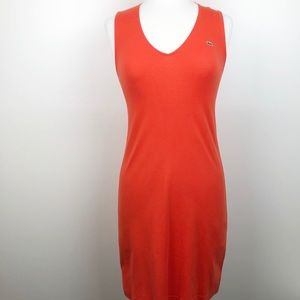 LACOSTE V Neck Resort Style Dress